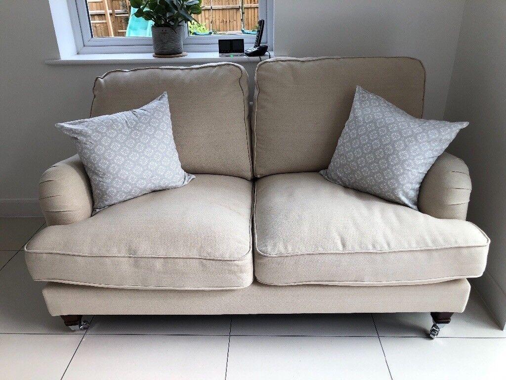 "Uvanlig Sofology ""Bella"" sofa arran beige | in Hockley, Essex | Gumtree HX-02"