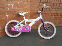Little girls bike .approx age 5+