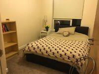 Lovely double room to let in sunny flat by the sea