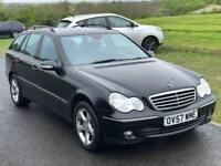 Automatic Mercedes C180 kompressor Avantgarde SE,F.Service History,leather seats,Mot