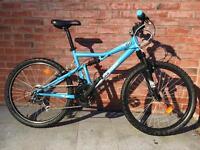 Kids Child's Full Suspension Mountain Bike MTB