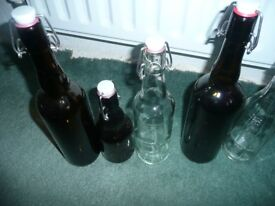5 bottles for beer making or any use