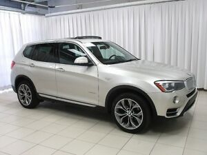 2015 BMW X3 28d x-DRIVE DIESEL w/ REAR CAMERA, HEATED SEATS &