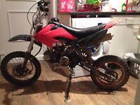 125 cc pit bike £175ovno