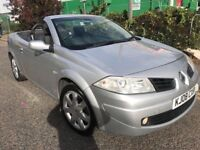 2008 RENAULT MEGANE CONVERTIBLE 1.5 ONLY £1100