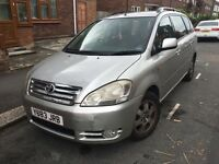 7 seater Toyota Avensis Verso Diesel