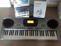 Casio electronic musical keyboard
