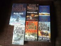Clive Cussler Books - available individually or as a package
