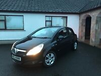 2007 Vauxhall Corsa 1.2 | 3 door | MOT'd August 2017 | Very good condition | Red interior |