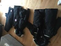 Canada Goose Resolute and Expedition parkas, Canada Goose pants