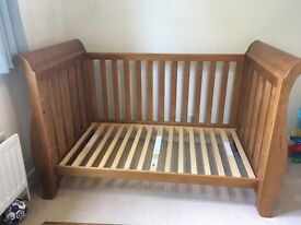 BOORI SLEIGH COT BED in great condition