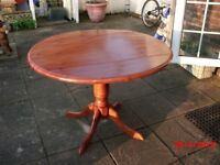 round drop leaf table and chairs