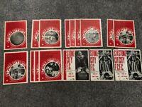 STOKE CITY - FOOTBALL PROGRAMMES - X 18 - 1971 - 1972