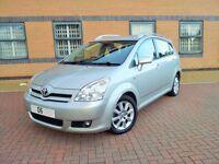 Toyota Corolla Verso D4D 140k FTSH 7 seater Diesel vw touran vauxhall zafira ford s max scenic c4