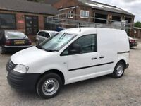 2009 vw caddy 1.9 tdi with 1 owner full service history no vat