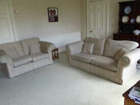 two and three seat sofas, hand made by Downs in North East