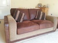 Fender 2/3 Seater Sofa with classic back cushions