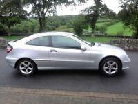 Dec 07 Mercedes C180K SE Coupe***Only 80,000 Miles***