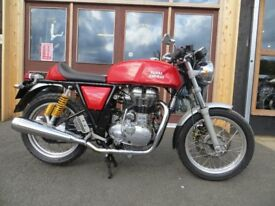 EVOLUTION MOTOR WORKS - 2015 Royal Enfield Continental GT - Only 7599 miles & full service history.