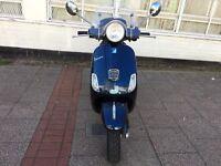 PIAGGIO VESPA LX 50cc midnight blue 2012 hpi clear!!