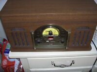 Steepletone Record Player