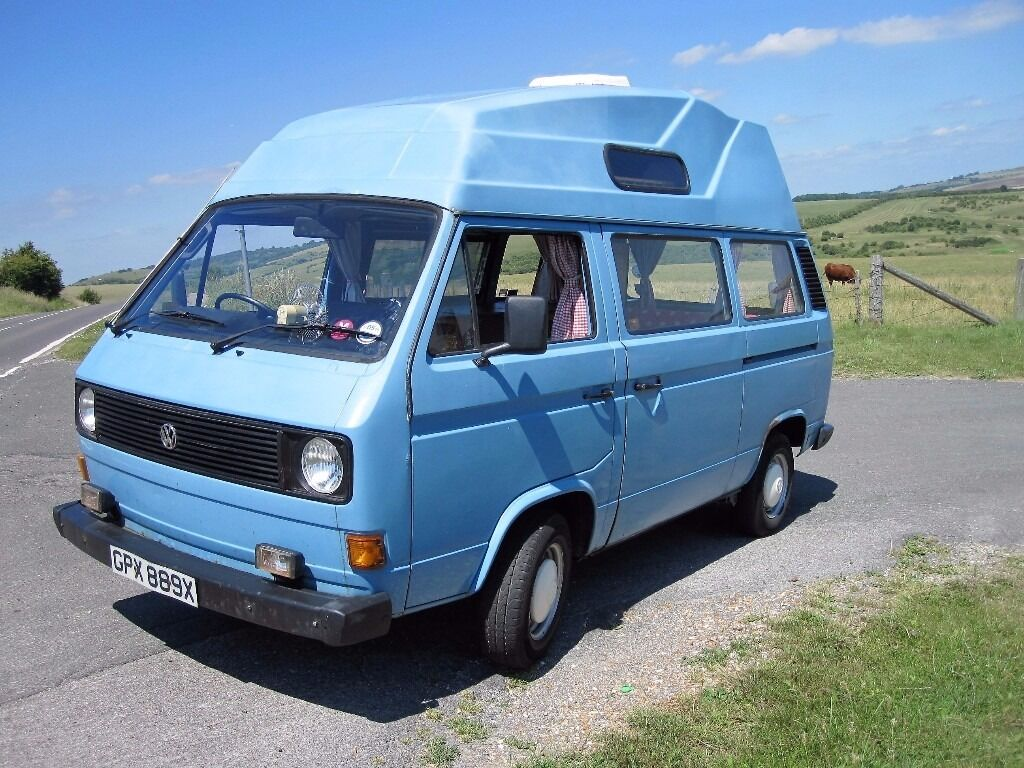 VW Transporter T25 High Top Camper Van 1981