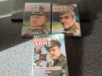 Dads Army set of 3 DVD'S