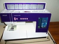 PFAFF 4.5 SEWING/EMBROIDERY MACHINE WITH EMBROIDERY UNIT