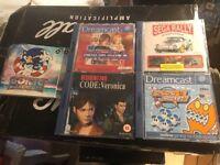 5 Sega Dream Cast Games inc. Sonic, Resident Evil, Dead or Alive