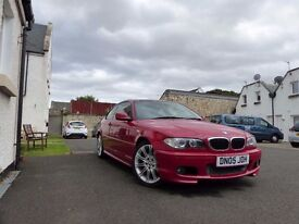 2005 BMW 320CD MSport Imola Red