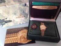 GENUINE Rolex Lady Datejust 69178 18 carat Gold/26mm diameter case