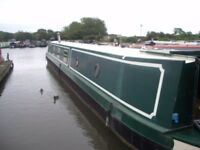 62ft Narrow boat for sale. Narrowboat