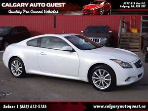 2013 Infiniti G37X Premium COUPE/AWD/NAVI/CAM/LEATHER/ROOF