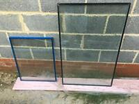 Glass double glazing