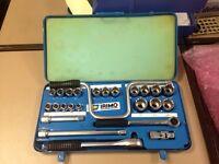 Vintage Irimo Tool Set in Tin Box- £60