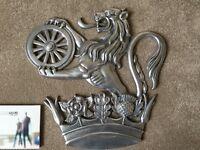 """British Rail """"Lion and Wheel"""" Crest"""