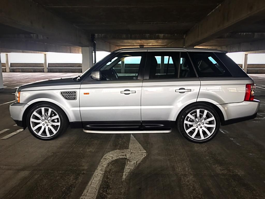2006 range rover sport 2 7 hse diesel low miles silver. Black Bedroom Furniture Sets. Home Design Ideas