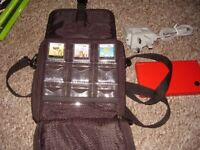 NINTENDO DSI WITH GAMES AND CASE AND CHARGER MINT
