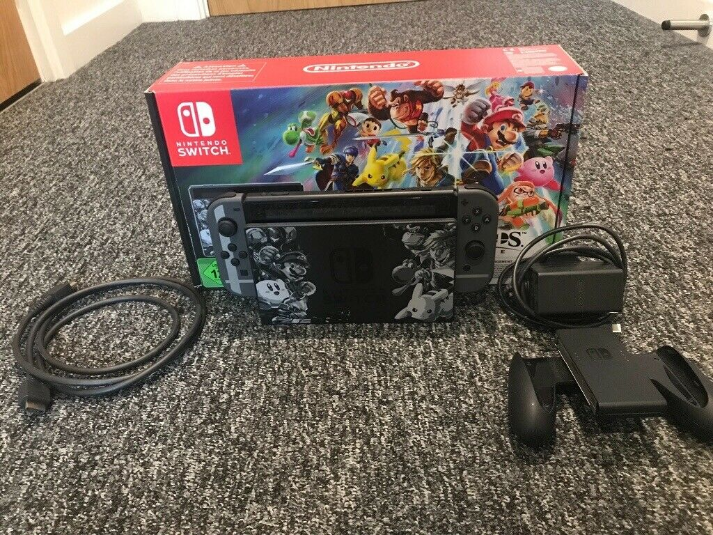 Limited Edition Super Smash Bros  Ultimate Nintendo Switch (32gb) | in  Sheffield, South Yorkshire | Gumtree