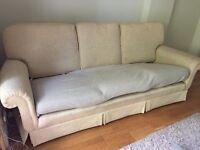 Large M&S 3-4 seat sofa