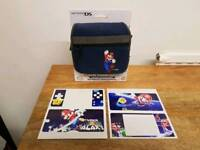 Mario carry case for DS Lite or DSi and sticker skin for DS Lite