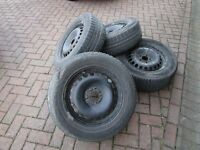 Ford Galaxy Mk3 Winter Wheels and Tyres