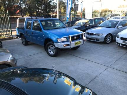 2001 Holden Rodeo DUAL CAB LOW KS LOGBOOKS LONG REGO 2 Keys Mags
