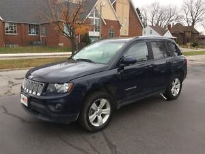 2014 JEEP COMPASS NORTH 4X4- LEATHER INTERIOR, CRUISE CONTROL, A