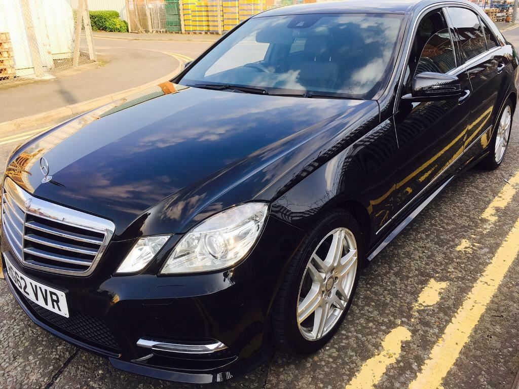 mercedes benz e220 cdi amg 2013 blueefficiency in kingston london gumtree. Black Bedroom Furniture Sets. Home Design Ideas