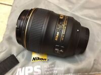 Nikon AF-S 35mm f/1.4 professional lens for sale. Mint condition. Reduced price.