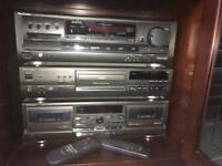 """""""Technics"""" Stereo, Cassette & Compact Disc Players"""