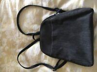 Small dark grey M&S backpack