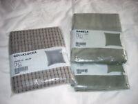 Ikea Grey Cushion Covers 50x50 new
