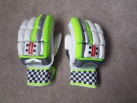 Gray Nicolls Junior Cricket Batting Gloves - Velocity XP1 - Good condition